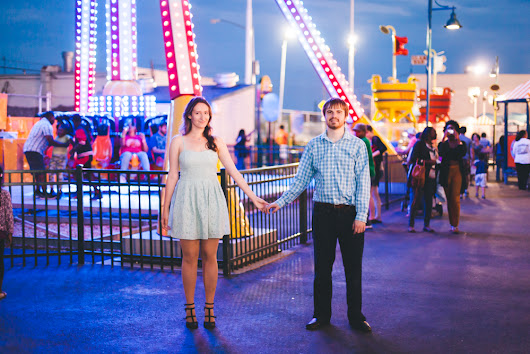 Jessica and Stan Love Shoot in Coney Island - Brooklyn Engagement Photography