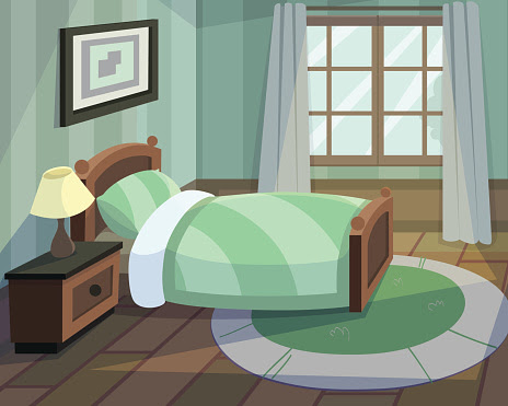 Bedroom Clip Art, Vector Images amp; Illustrations  iStock