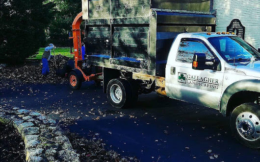 Call us for your #fallcleanup before the leaves are covered in snow. | Gallagher Landscaping, Braintee Scituate