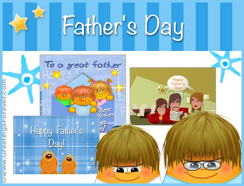 Father's day eCards - Happy Father's day free egreetings, Dad greeting cards, Dad animated ecards, special father's day gifts ecards, ecards for dad with music - Greetings Forever