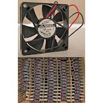 ADDA 12VDC 70MM FAN P/N AD0712MB-D70 NEW!