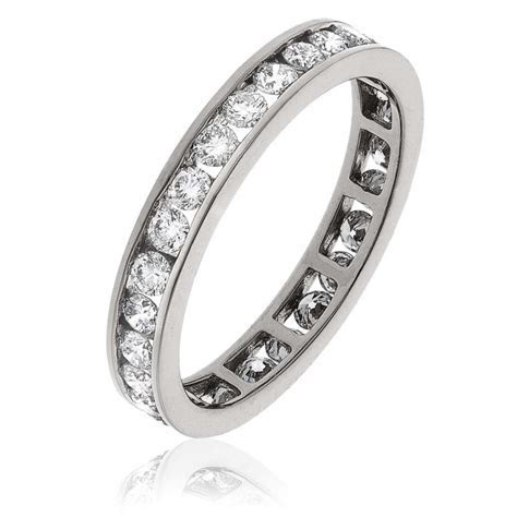 1ct Channel Set Full Eternity Ring (3mm)   from Bigger