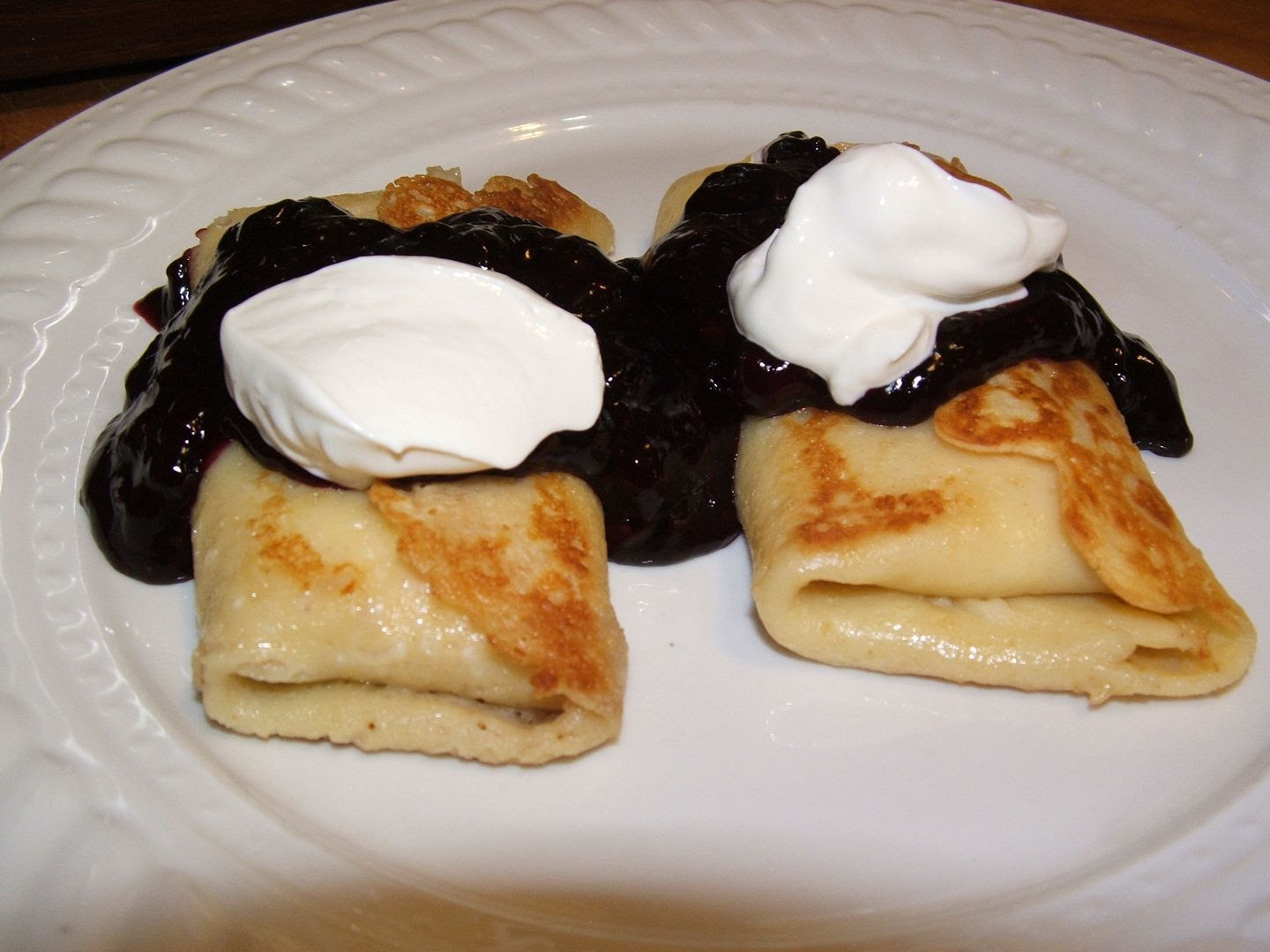 Bueberry Blintz, by Angie Ouellette-Tower for godsgrowinggarden.com
