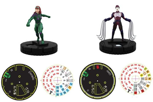 DC Heroclix: Teen Titans- Fairchild & Leash