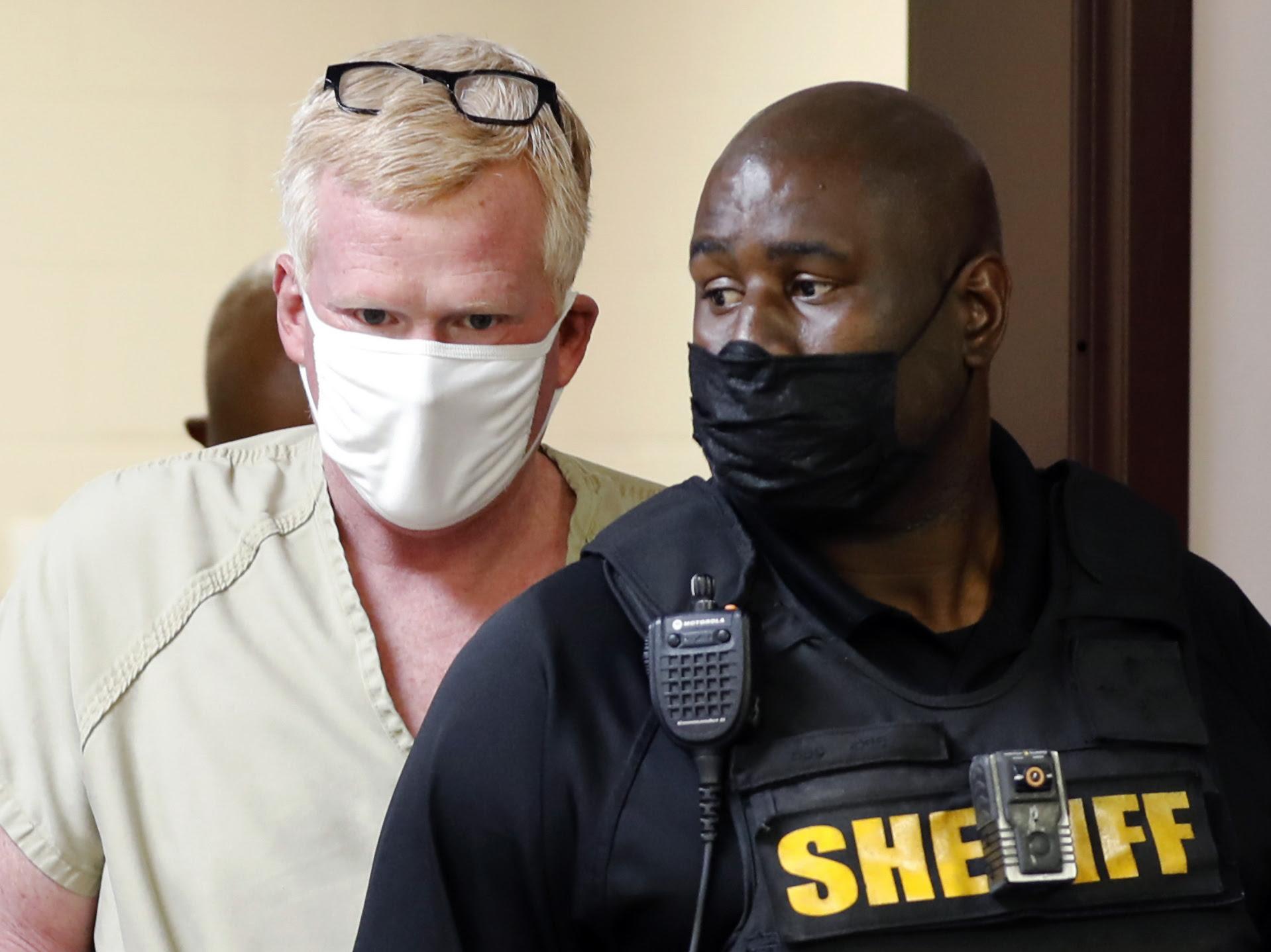 South Carolina lawyer Alex Murdaugh is arrested on new felony counts
