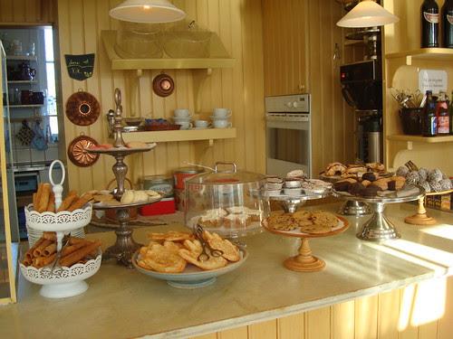Kakor på Jamtli café