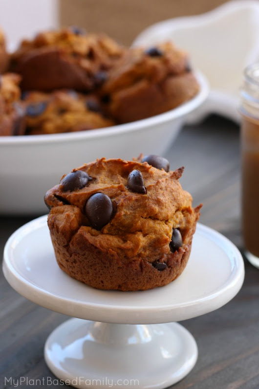 Gluten-Free Pumpkin Muffins and a Giveaway! - My Plant-Based Family