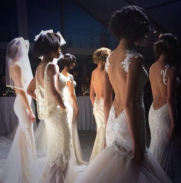 Bridal Week Behind the Scenes | Bridal Musings Wedding Blog
