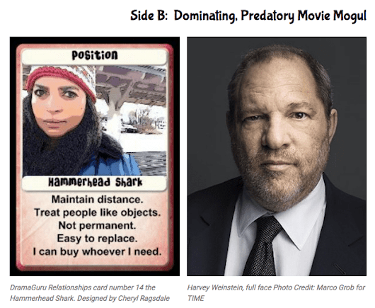 Two-Faced Harvey Weinstein Both Sides Revealed