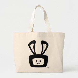 Cartoon Acid Oscar Bunny Tote Bag bag