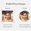 Why Circular Profile Pictures Accentuate Faces - UX Movement