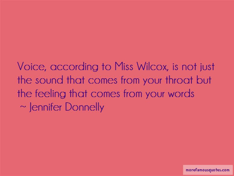 Miss Sound Your Voice Quotes Top 5 Quotes About Miss Sound Your
