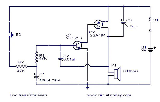 two-transistor-siren
