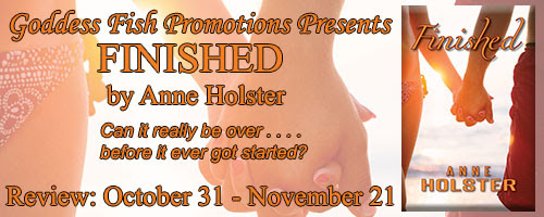 Review + Giveaway: Finished by Anne Holster