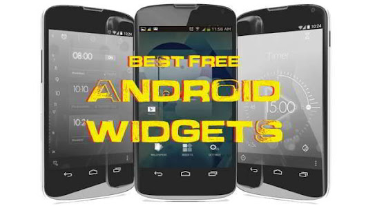 10 Best Free Android Widgets you must Download | GetANDROIDstuff