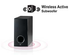 Wireless Active Subwoofer