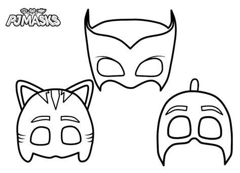printable pj masks coloring pages pj masks