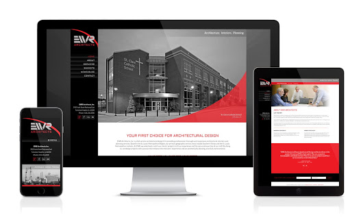 Custom WordPress Website Design for EWR Architects by Visual Lure