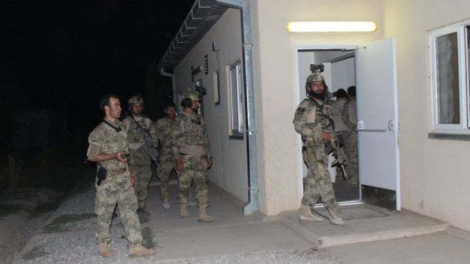 Afghan special forces preparing to launch a counter-offensive to regain control of Kunduz (30 Sept 2015)