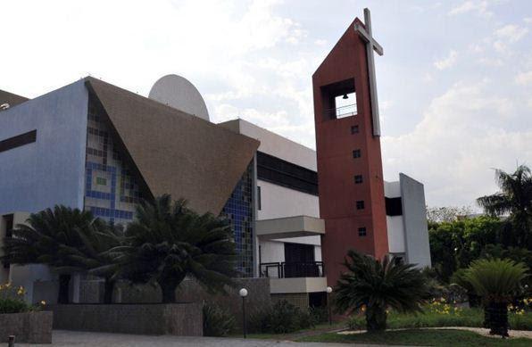 Igreja Paróquia Nossa Senhora da Esperança na 307/308 - Ed Alves/CB/D.A Press