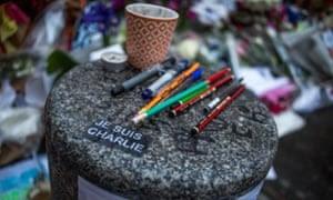 Charlie Hebdo commemoration