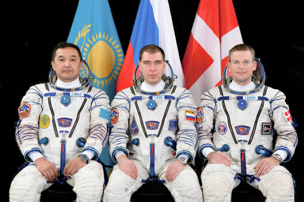 ISS Expedition 45 Crew