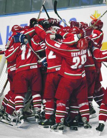 Belarus beats Sweden, Belarus beats Sweden