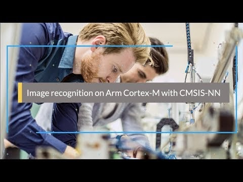 Image recognition on Arm Cortex-M with CMSIS-NN in 5 steps