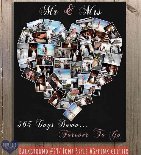 First Anniversary Gift, Anniversary Photo Collage