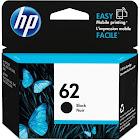 HP 62 Ink Cartridge, Black - 1-pack