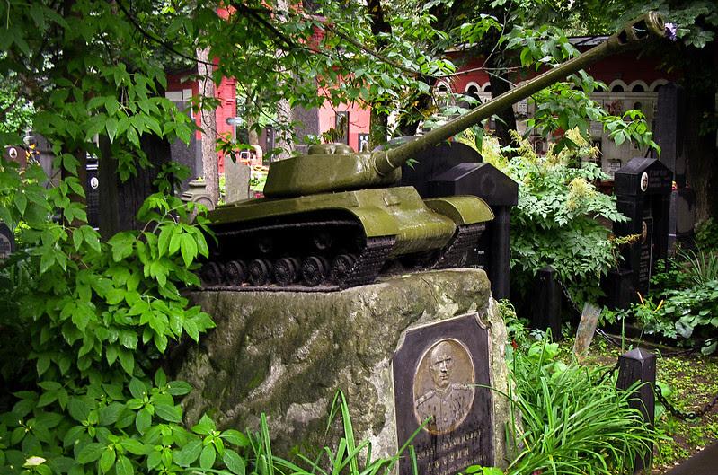 Cementerio soviético