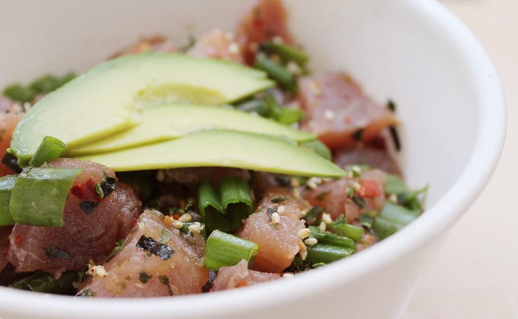 Ah that 39 s love ahi tuna poke for Sashimi grade fish
