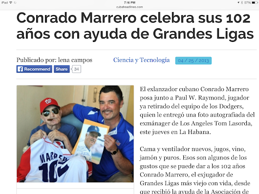Conrado Marrero, the L.A. Dodgers, and Me - How I made the Big Leagues - Baseball Adventures