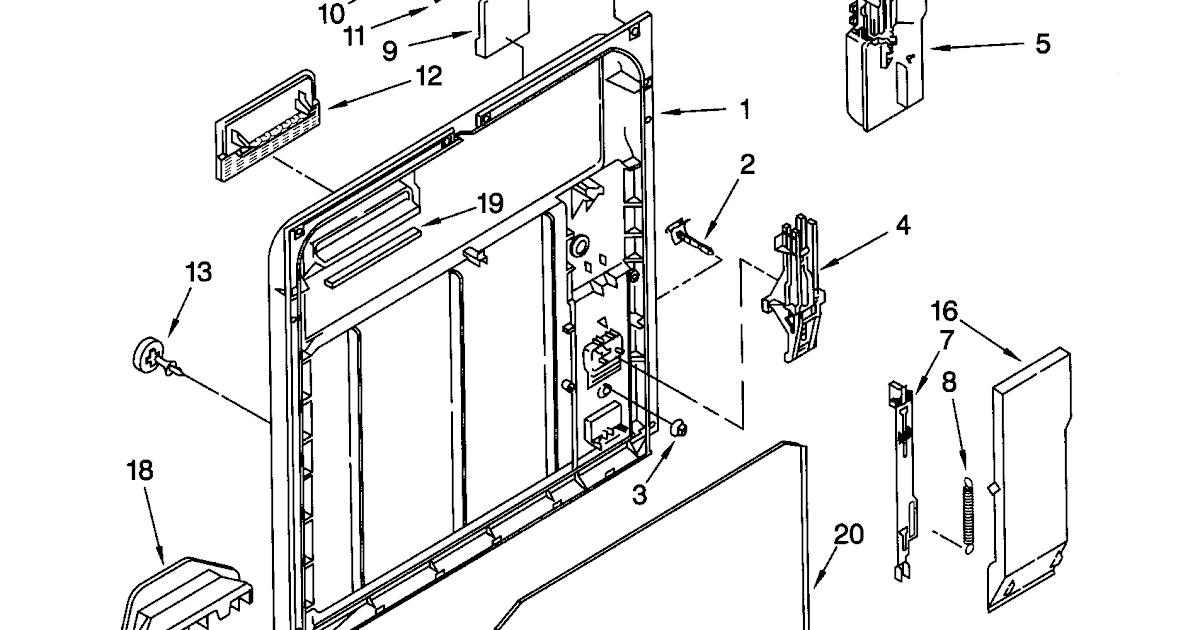 Wiring Diagram: 28 Kenmore Dishwasher 665 Parts Diagram