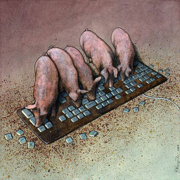 AD-Satirical-Illustrations-Show-Our-Addiction-To-Technology-32
