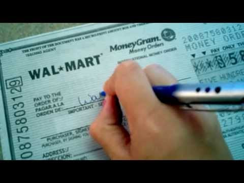 How To's Wiki 88: How To Fill Out A Money Order Moneygram