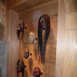 Tribal African Mask Display Stands
