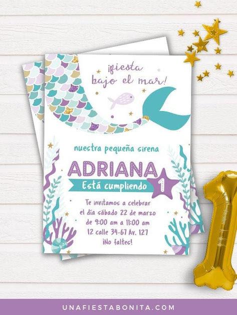 Invitacion Cumpleaños Online