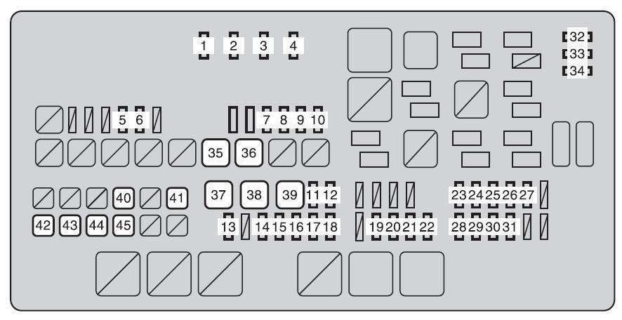 Toyota Tundra 2009 Fuse Box Diagram Auto Genius