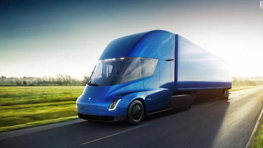 Anheuser-Busch orders 40 Tesla trucks - Dec. 7, 2017