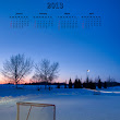 2013 NHL Lockout Calendar - Photography by Darcy Michaelchuk