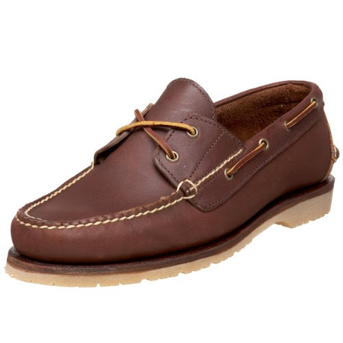 Red Wing Heritage Men's Handsewn Boat Shoe,Mahogany Oro-iginal,9 E US