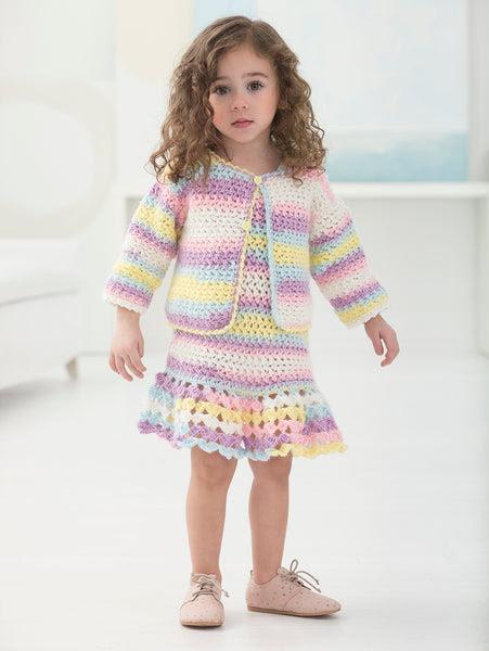 Devonshire Dress And Cardi (Crochet)