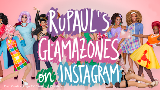 Top 10 RuPaul's Drag Race glamazones on Instagram