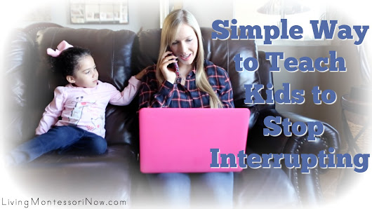 Simple Way to Teach Kids to Stop Interrupting