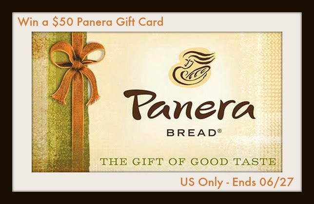 Panera Gift Card Giveaway. Ends 6/27