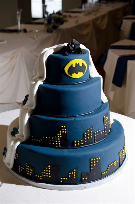 New England Winter Wedding And A Batman CakeNew England