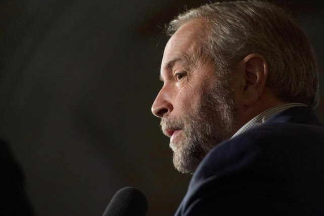 Le chef du NPD, Thomas Mulcair, a salué... (Adrian Wyld, Archives PC)