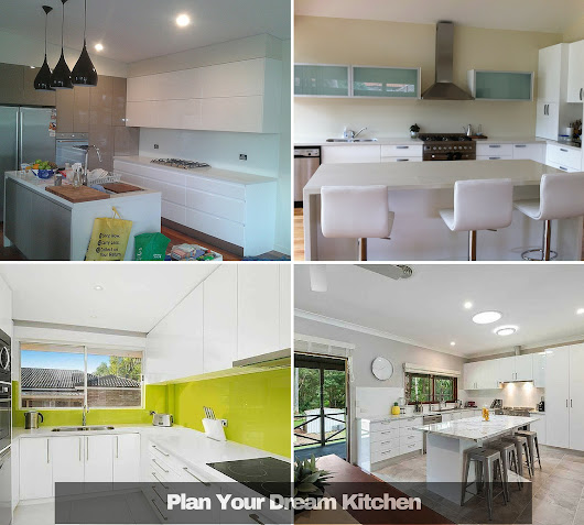 Kitchen Island Paradise In Kingsgrove: Paradise Kitchens