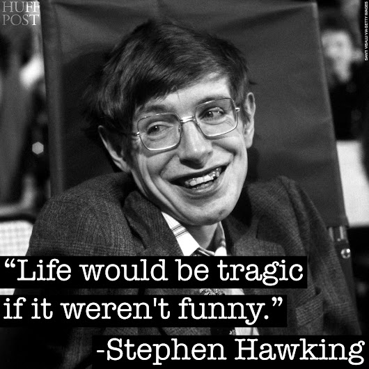 7 Stephen Hawking Quotes That Will Make You Smile